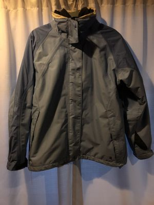 Women's columbia omni shield waterproof breathable light blue jacket coat Large for Sale in San Leandro, CA