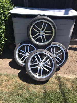 Honda Toyota wheels/rims 18's for Sale in Fremont, CA