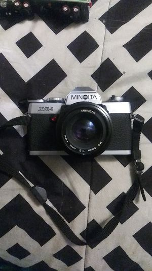 Vintage minotola XG 135 mm camera with 50 mm 2 to 1 lens for Sale in Franklinville, NJ
