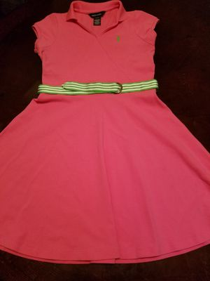 Girl's Ralph Lauren Polo Dress. Size XL (16) for Sale in Birmingham, AL
