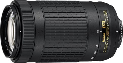 Nikon AF-P DX NIKKOR 70-300mm f/4.5-6.3G ED Lens for Nikon DSLR Cameras for Sale in Orlando,  FL