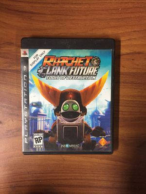 Ratchet and Clank Tools of Destruction - Ps3 for Sale in Moreno Valley, CA