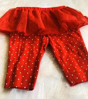 NEW! Carter's Red Tutu Pants *3 Months for Sale in Gresham, OR