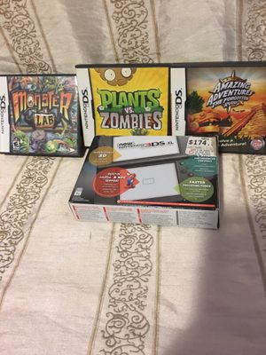 New Nintendo 3 DS XL With 3 Games And Charger for Sale in Chino, CA