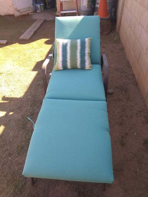 Lounge chair with table for Sale in Phoenix, AZ