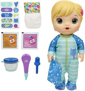 Medicine Baby Doll Blonde Hair Toy for Sale in Norfolk, VA