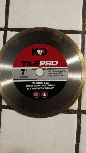 Tile Diamond Blade for Sale in Phoenix, AZ
