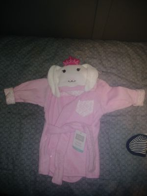 Baby Girl Bathrobe for Sale in Joliet, IL