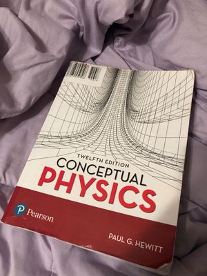 Conceptual Physics: Twelfth Edition for Sale in Vancouver, WA