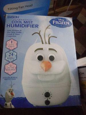 Olaf mist humidifier for Sale in Atlanta, GA