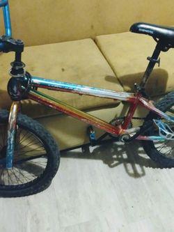 Chameleon Color Bmx Bike for Sale in Houston,  TX