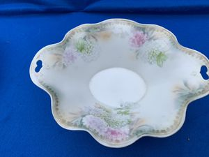 Beautiful Prussia Handpainted footed Bowl for Sale in Houston, TX