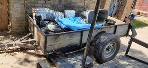 4x8 trailer 3500lbs axle for Sale in Austin, TX