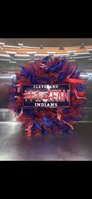 Cleveland Indians Wreath for Sale in Avondale, AZ