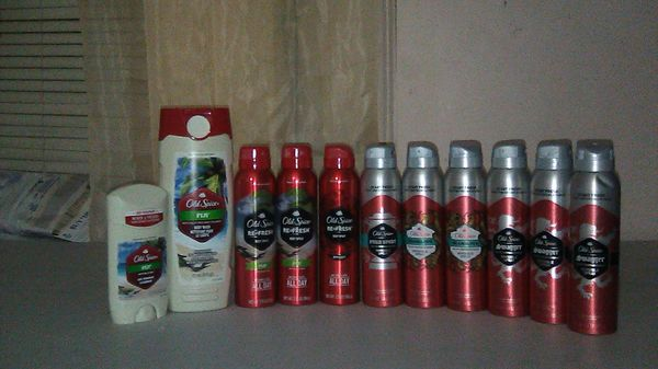 Old spice lot