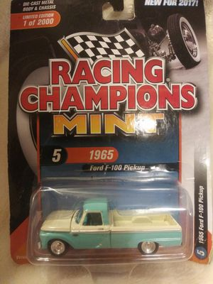 Racing Champions Mint 1965 Ford F-100 Pickup for Sale in San Antonio, TX