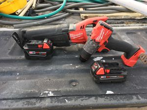 Milwaukee Fuel m18 combo for Sale in McAllen, TX