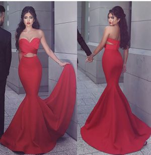 Smoking hot Red Quinceanera or Gothic Mermaid Dress for Sale in San Antonio, TX