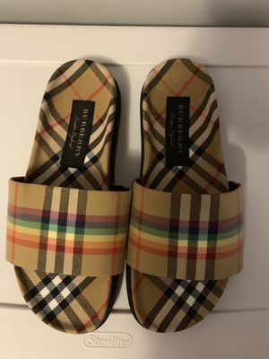 Burberry slides size 9 men's (10 women's) new for Sale in Los Angeles, CA