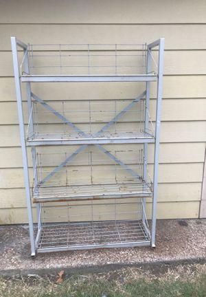Metal shelf for Sale in Arlington, TX