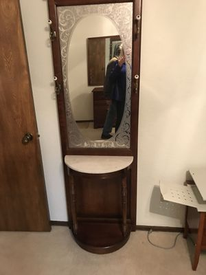 Hall Tree Entry Mirror for Sale in Claremore, OK