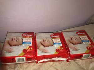 Huggies Diapers Size 1 for Sale in Bowie, MD