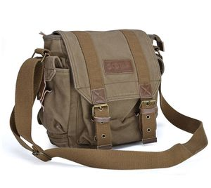 Gootium - Canvas Messenger Bag - Small Vintage Shoulder Bag Crossbody Satchel for Sale in Alexandria, VA
