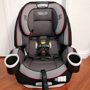 Graco 4Ever 4-in-1 Convertible Car Seat 2016 Gray Pink Condition: used, good, clean, washed for Sale in Garden Grove, CA