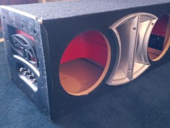 Rockford Fosgate PL1-210 Subwoofer Box Trunk Or Truck Design for Sale in West Palm Beach,  FL