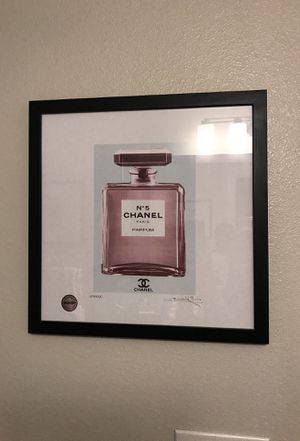 Chanel Perfume Bottle Painting for Sale in Houston, TX