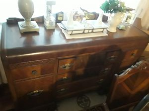 Antique table, China cabinet, dresser for Sale in Clovis, CA