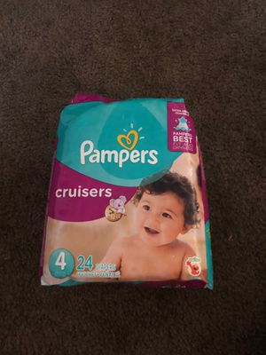 size 4 pampers for Sale in Upland, CA