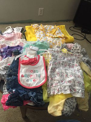3-12 month babygirl clothes for Sale in Greenfield, IN