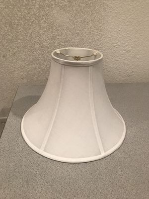 White lamp shade new for Sale in Taylors, SC