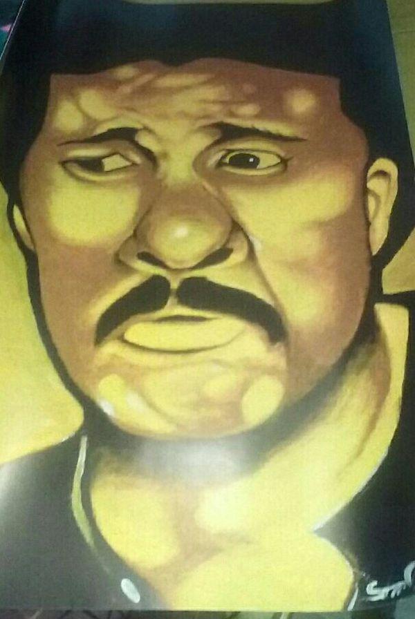 Comedian Portrait Paintings
