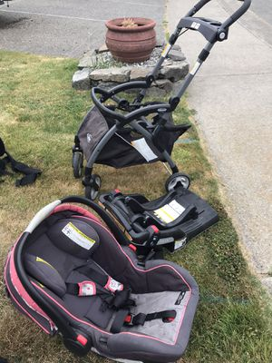 Car seat, base and stroller combo for Sale in Kent, WA