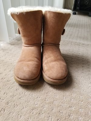 UGG Womens Bailey Button Boots - US size 9 for Sale in Denver, CO