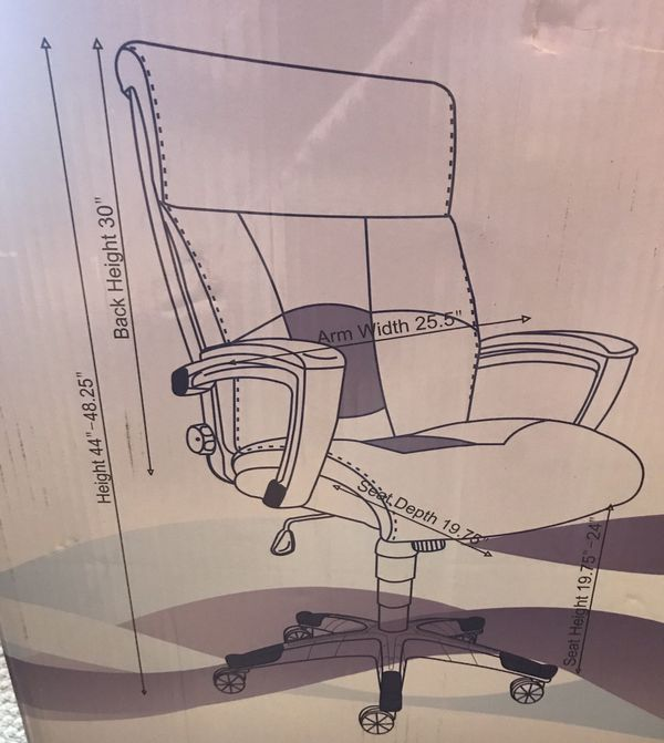 Office chairs. 4 different kinds