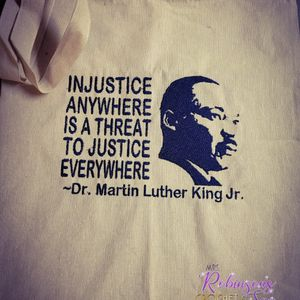 Dr. Martin Luther King Canvas Tote for Sale in Essex, MD
