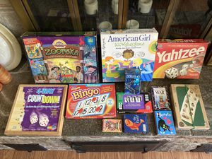 Assorted board & card games - still available! for Sale in Seattle, WA
