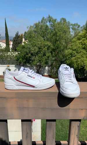Adidas Continental 80s Style shoe- white- Size 10 for Sale in Temecula, CA