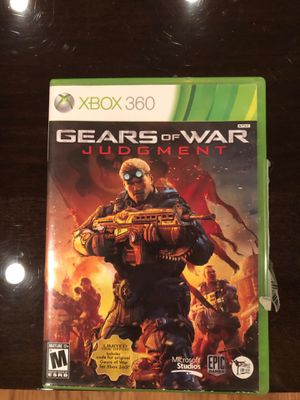 Gears of war Jusdgement Xbox 360 game for Sale in Dallas, TX