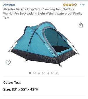 Alvantor backpacking tent for Sale in Aliso Viejo, CA