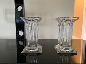 Partylite pillar holders. Glass. for Sale in FL, US