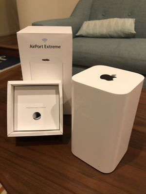 Apple AirPort Extreme 3 Port Base Station Wireless Router for Sale in San Diego, CA