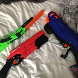 NERF GUNS. ENTIRE COLLECTION DM IF LOOKING FOR SPECIFIC BLASTERS for Sale in Traverse City,  MI