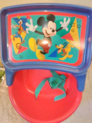 Mickey 3-in-1 Seat - Feeding Seat, Booster Seat, and Floor Seat for Sale in Carpentersville, IL