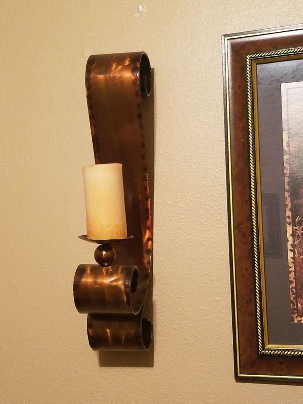 Candle holder set of 2