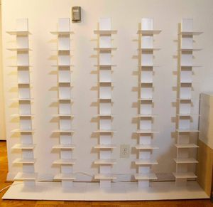 Sapien Style Metal Bookcases $100 ea. for Sale in Chevy Chase Village, MD