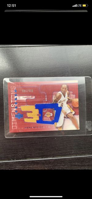 Kobe Bryant Collectors Card for Sale in Fort Wayne, IN